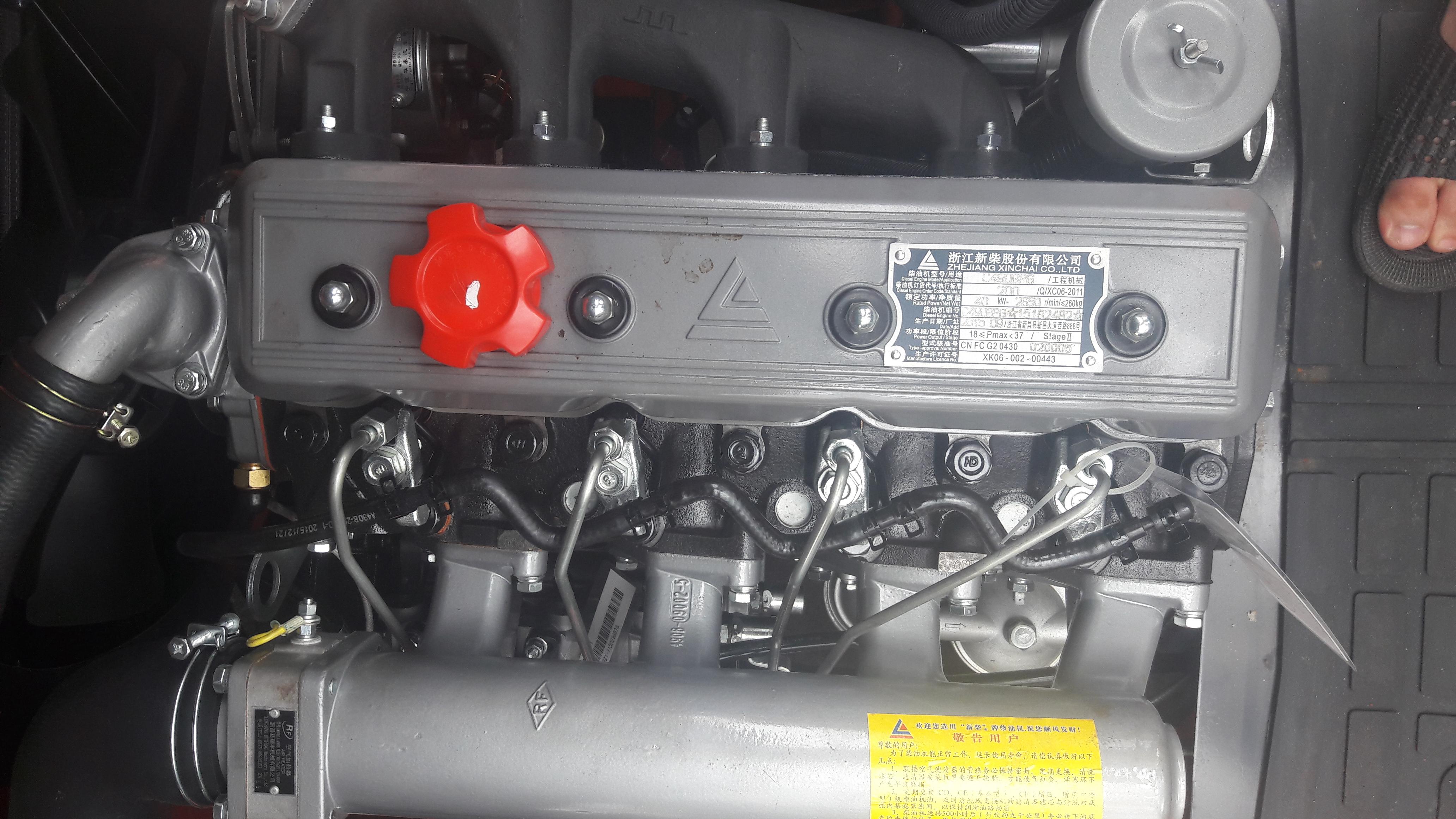 Động cơ Xinchai C490 xe nâng hàng heli 2 tấn