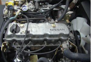 xe nâng chạy gas heli 3 tấn lắp động cơ nissan k25