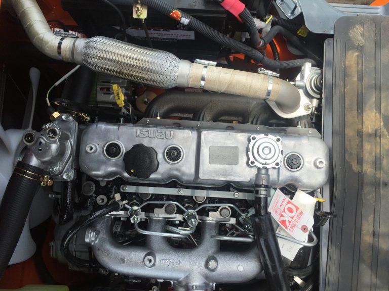 xe nâng heli 3.5 tấn - động cơ isuzu 4jg2