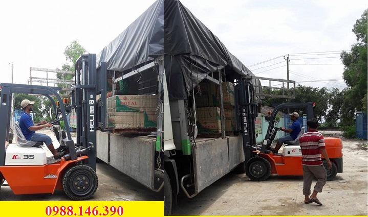 Xe nâng HELI tại Tây Ninh
