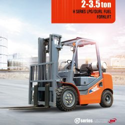 Xe nâng Heli 3.5 tấn