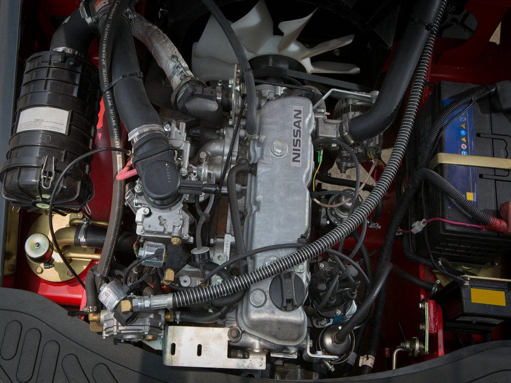 Động cơ Nissan K25 lắp trên xe nâng HELI