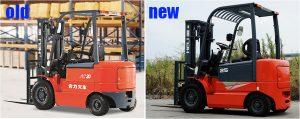 xe nâng điện heli 1-2.5 tấn h3 series và h2000 series