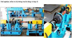 Nhà máy heli thử nghiệm hệ thống truyền động xe nâng