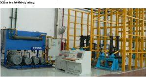 kiểm tra hệ thống nâng hạ-nhà máy heli