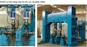 kiểm tra khả năng chịu tải các bộ phận - nhà máy heli