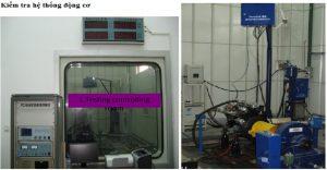 nhà máy heli kiểm tra hệ thống động cơ