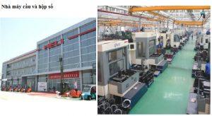 nhà máy heli sản xuất cầu và hộp số