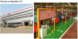nhà máy heli sản xuất xe nâng điện 1-5 tấn