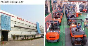 nhà máy heli sản xuất xe nâng 1-3.5 tấn