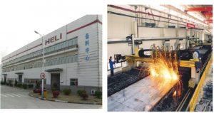 nhà máy heli - xưởng cơ khí