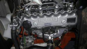 xe nâng heli 1-1.8 tấn lắp động cơ isuzu nhật bản