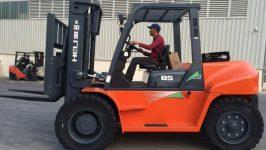 Bán xe nâng Isuzu Nhật Bản giá rẻ, uy tín