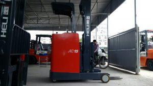 xe nâng hàng heli 1.5 tấn đứng lái