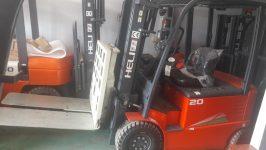 Xe nâng hàng push pull, kéo đẩy Heli