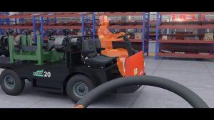 xe ô tô chở hàng chạy nhiên liệu điện heli