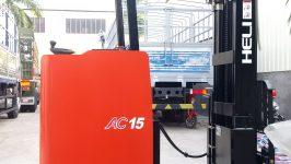 Bán xe nâng điện đứng lái tại Tây Ninh
