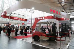 heli giới thiệu sản phẩm mới tại cemat