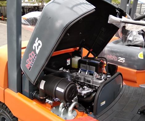 bộ giảm thanh nạp trên xe nâng heli 3 tấn