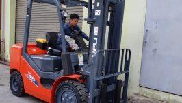 Xe nâng heli trung quốc tại Đồng Nai