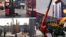Hãng xe nâng heli tại triển lãm Bauma China 2018
