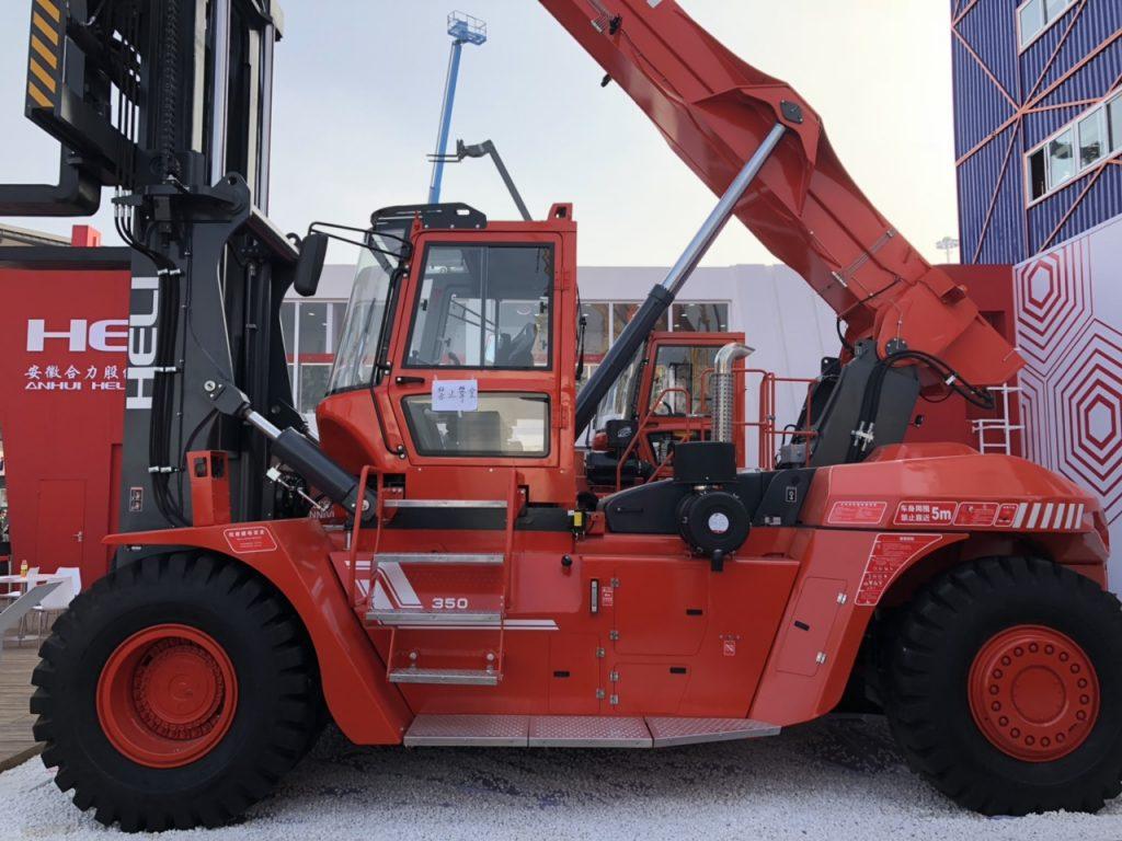 hãng xe nâng heli - tải trọng nâng 35 tấn