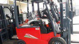 Bán xe nâng điện ngồi lái 1 tấn hiệu Heli mới chính hãng