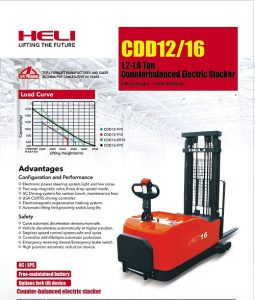 Stacker heli 1.2-1.6 tấn