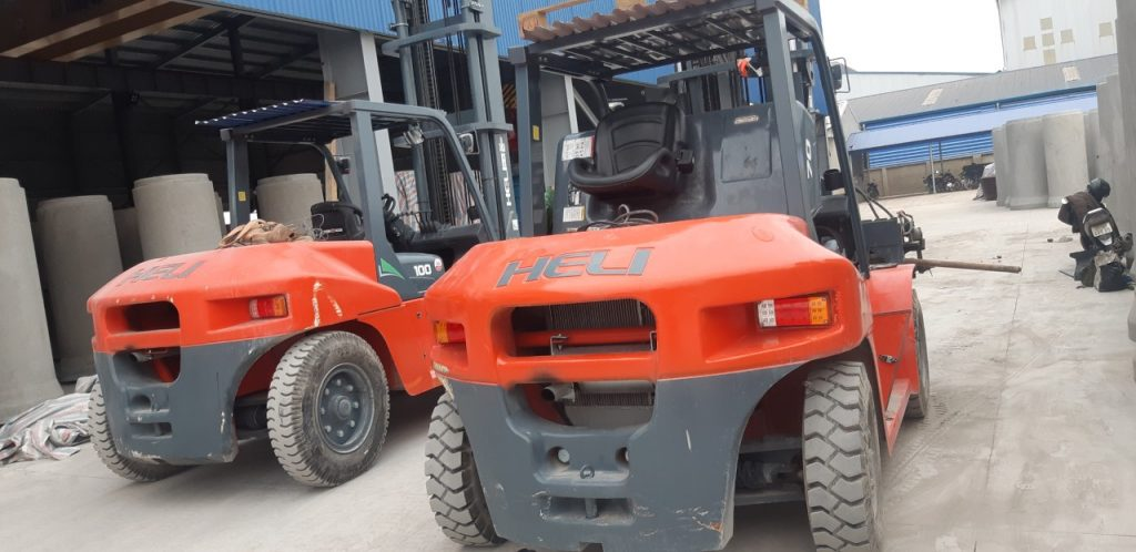 xe nâng heli tại bắc ninh - nhà máy sản xuất ống cống