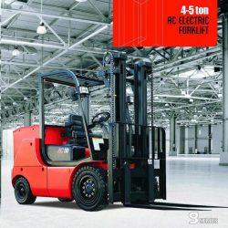 xe nâng điện heli 4-5 tấn
