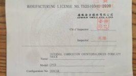 Bộ giấy tờ xe nâng cho khách hàng khi mua xe nâng hàng mới