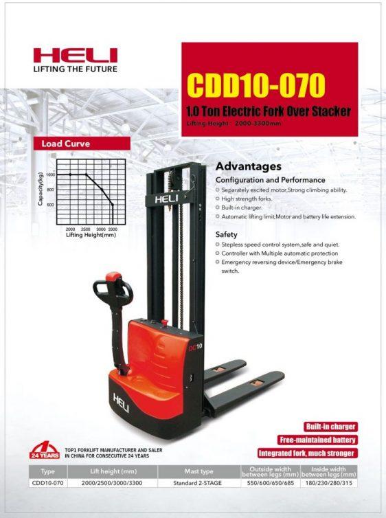 stacker heli cdd10-070