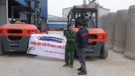 Xe nâng Heli tại Thái Nguyên