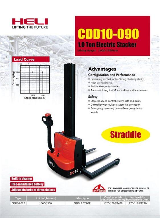 Stacker heli cdd10-090